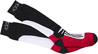 Alpinestars, 1207240 - Calcetines S-M negro/gris/rojo