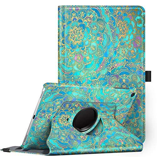 Fintie Hülle für Samsung Galaxy Tab A 10.1 T510/T515 2019, 360 Grad verstellbare Schutzhülle Cover Case Tasche mit Standfunktion für Galaxy Tab A 10,1 Zoll 2019 Tablet-PC, Jade