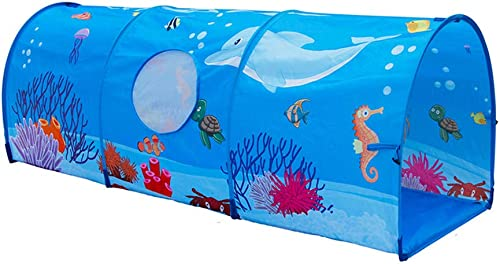 Nbibsaacy Tunnel Crawl Jouet Ramper portable Playhouse Enfants Intérieur Extérieur MultiCouleures Puzzle éducatif précoce en intérieur et en extérieur Jeux de Plein air, Jouets de DivertisseHommest