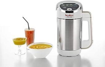 Moulinex Easy Soup Blender Chauffant, Robot cuiseur, Double Paroi, Capacité 1,2L,Soupe, Velouté, Compote, Smoothies, Maint...