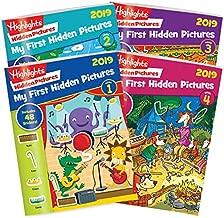 Highlights My First Hidden Pictures 2019 - 4 Book Set