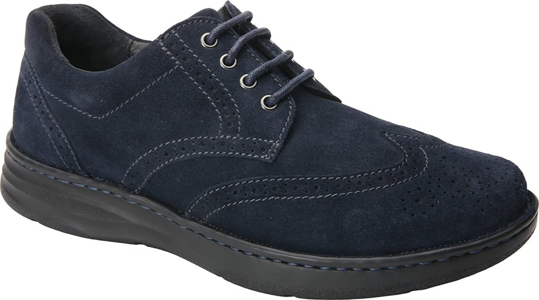 Drew shoes Men's Delaware Suede, Foam, Fashion Oxfords
