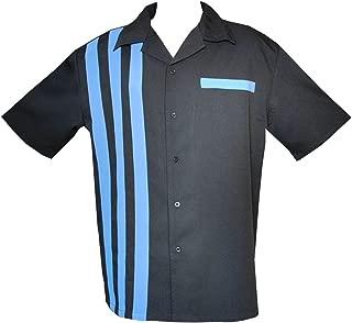 Mens Bowling Shirt, Retro 50's Style