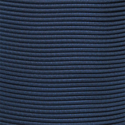 1/8 Inch Shock Cord (also known as bungee cord) for Replacement, Repair, and Outdoors (25 Feet, Midnight Blue)