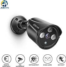 JOOAN Video Monitor Analog Camera Bullet Surveillance Camera with Night Vision HD720P CCTV Camera-Update Type(Black)