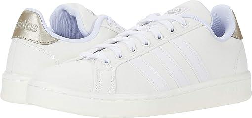 Footwear White/Footwear White/Platin Metallic