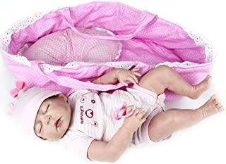 full silicone reborn baby girl for sale