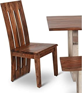 Greyson Living Rania Sheesham Wood Dining Chairs (Set of 2) by - 42 inches high x 18 inches Wide x 18 inches deep