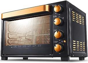 fgg Gourmet Pizza Four, Petit déjeuner Machine, 32L, contrôle de température indépendant, 4-Couche Rôtir, éclairage intégr...