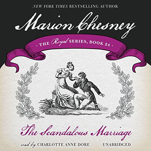 The Scandalous Marriage audiobook cover art