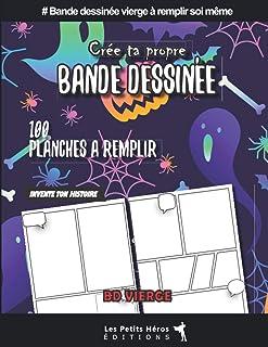 Créer sa propre bande dessinée: v1-7 bd vierge à remplir soi même thème Halloween |..