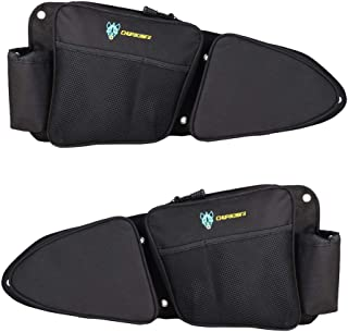 RZR Side Door Bags, Chupacabra Offroad Front Door Side Storage Bag Set w/Knee Pad for 2014 2015 2016 2017 2018 2019 2020 Polaris RZR XP Turbo Turbo S 1000 S900 (Install Video Included)
