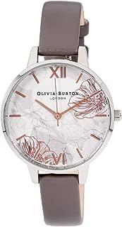 Olivia Burton Abstract Florals Quartz Movement Grey Dial Ladies Watch OB16VM32