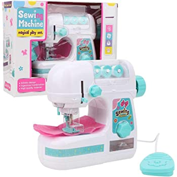 Barbie-Mattel Lexibook SW100B Máquina de Coser con Accesorios, Luz ...