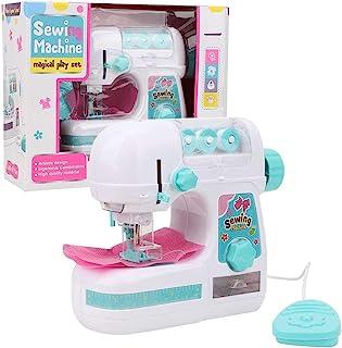 Portátil máquina de coser eléctrica, tamaño mediano estilo de costura Craft Kit juguetes educativos interesantes para niños