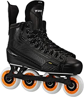 TOUR HOCKEY CODE 3 SENIOR INLINE HOCKEY SKATES BLACK SIZE 4