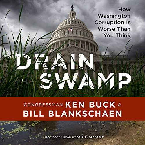Drain the Swamp audiobook cover art