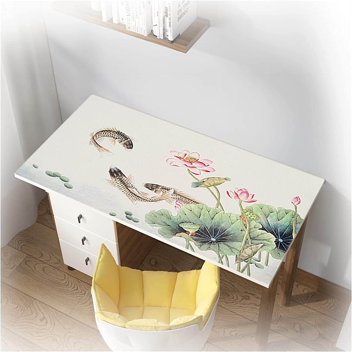 AYLYHD Indefinitely 1.6mm Thick Dining Table Cover Year-end annual account Protector Plasti PVC
