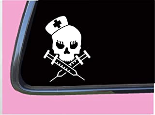 Nurse skull TP 395 Sticker 6