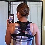 Correcci/ón de Postura Fixget Posture Corrector para Mulheres e Homens Ajust/ável Na Parte Superior Das Costas Postura Corrector Brace Postura Terap/êutica Da Parte Superior do Corpo Preparem