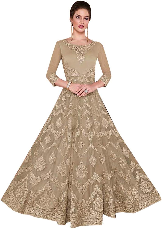 Indian Designer Hit Anarkali Salwar Kameez Suit Royal Party Wear 7295