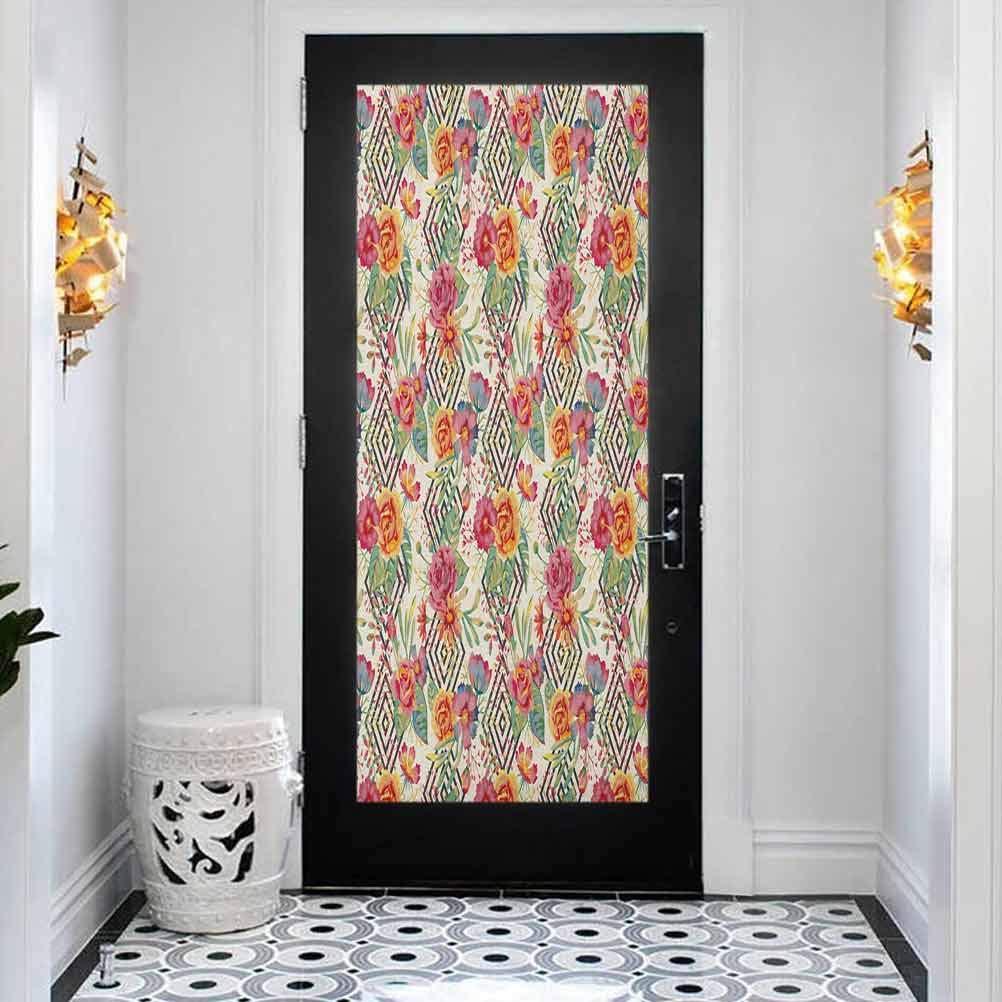 Decor Purchase Door Decals Self-Adhesive Diamond Mural S Watercolor Popularity