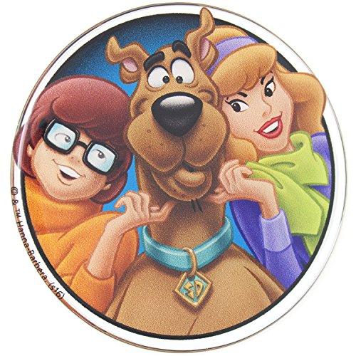 Fan Emblems Scooby Doo, Velma, Daphne Car Sticker a cupola / multicolore / finitura cromata, decalcomania automobilistica si applica facilmente a auto, camion, motocicli, quasi tutto
