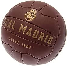 Real Madrid CF Retro Heritage Soccer Ball