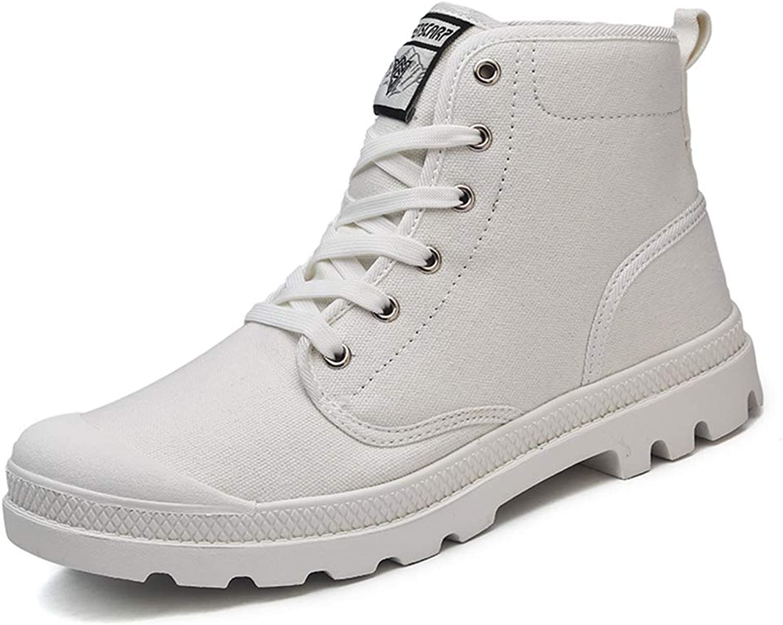 7c51f828d Super explosion Men Hiking shoes Canvas High-top Anti-Slip Trekking Lacing  Lacing Lacing Climbing Sport Sneaker 1a3357