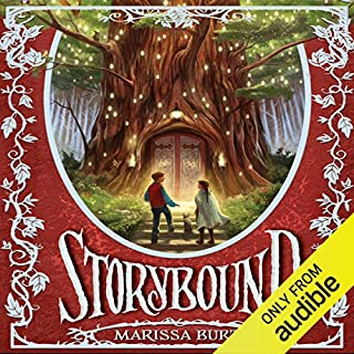 Storybound audiobook cover art
