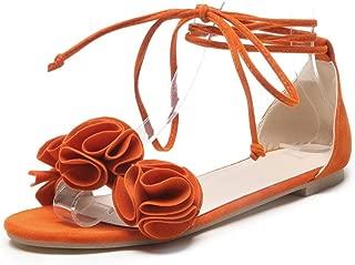 BalaMasa Womens ASL06094 Pu Flats Sandals