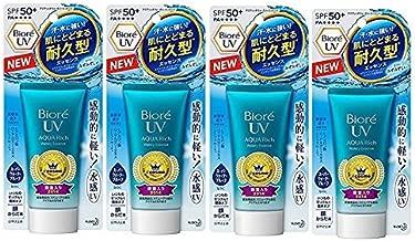 Biore UV Aqua Rich Watery Essence SPF50+ / PA++++ 50g 2017 new model / 1.75 Ounce (4 Count)