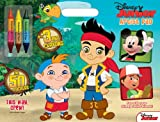 The Disney Junior This Way Crew! Artist Pad manufactured by Bendon Publishing comes stickers and 3 double-ended crayons The oversized artist pad features Jake and the Neverland Pirates Mickey Mouse and friends and other Disney characters Suitable for...