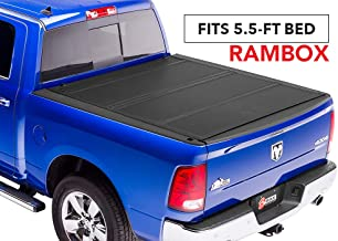 BAKFlip MX4  Hard Folding Truck Bed Tonneau Cover | 448227RB | fits 2019 Dodge Ram With Ram Box 5' 7