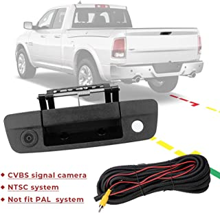 $69 » ISSYAUTO Backup Camera Tailgate Handle for 2009-2017 Ram 1500 2500 Reverse Handle with Rear View Camera