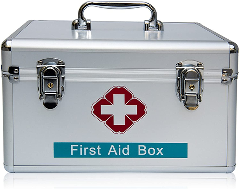 GSHWJS-Medical Chest Locked Medicine Box Home Medicine Box Out of Box Medicine Box Emergency Box 40x22x23cm