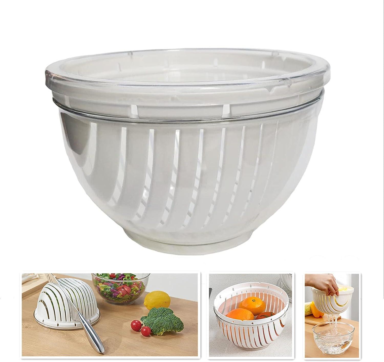 Fantasee Easy Fruit Vegetable favorite Salad Cutter Multi-Function Bowl Overseas parallel import regular item