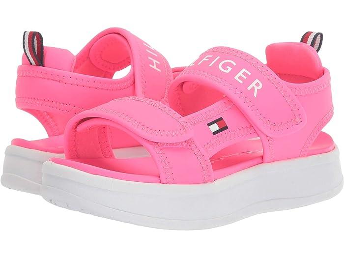 Red Tommy Hilfiger Baby Kids TH GEO GS Slide Sandal 10 Toddler US Toddler