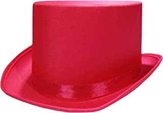 hot pink top hat