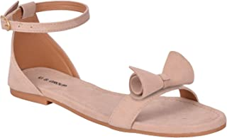 US GROUP Flat Buckle Sandal For Womens And Girls