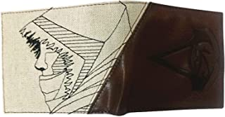Assassins Creed Origins Wallet Bayak Inspired Official Brown Zip Around Bifold