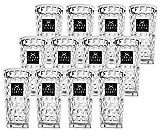 Three Sixty Vodka Glas Gläser-Set - 12x Longdrink-Gläser