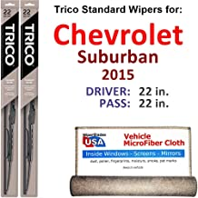 Best 2015 chevy suburban wiper blade size Reviews