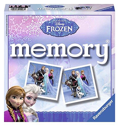 Ravensburger - 21108 - Jeu De Société Éducatifs - Memory - Frozen/reine Des Neiges