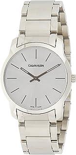 Calvin Klein Unisex-Adult Quartz Watch, Analog Display and Stainless Steel Strap K2G22146