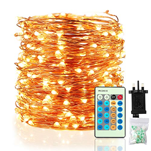 Fairy Lights LED String Lights - Speclux 30M 300 LEDs Copper Wire Light Waterproof, Dimmable with Remote Control, Decorative Twinkle Starry Lighting for Indoor Outdoor Garden Patio Wedding Christmas