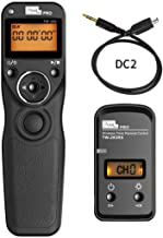 pixel TW-283 Pro DC2 Wireless Shutter Remote Control Support for Nikon D7000 D7100 D7200 D5100 D3100 D750 Camera Shutter Timer Camera Self-Timer Star Track Dedicated