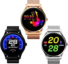 XIAOGAOJI Pantalla táctil Bluetooth Smartwatch Sleep Heart Rate ...