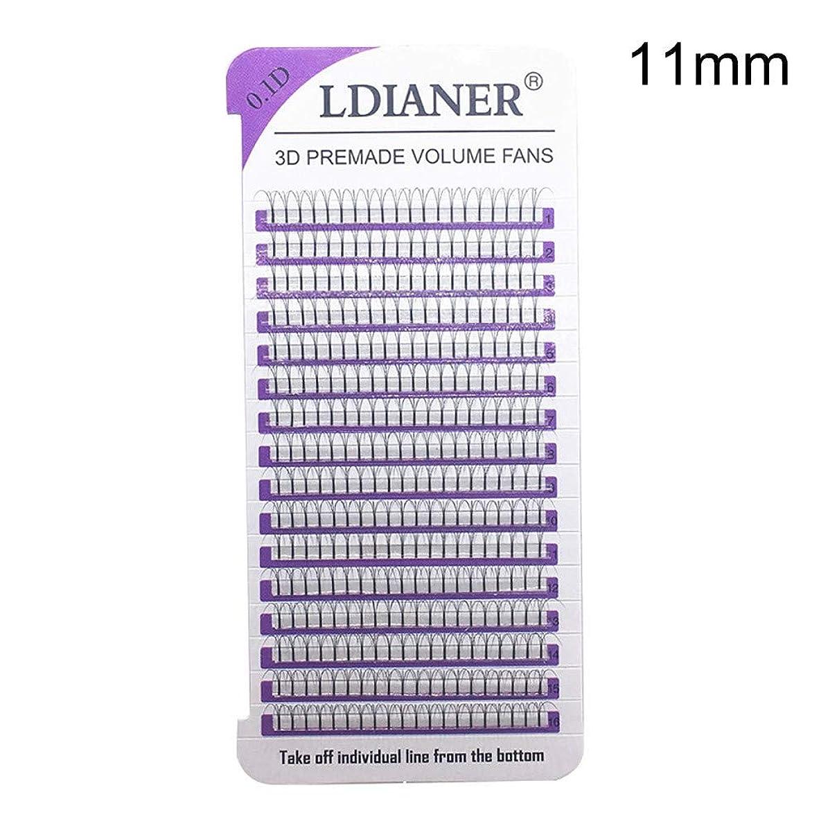 ひねくれた下すべきLQQSTORE つけまつげ まつげ ナチュラル つけまつげの毛深い 16列つけまつげ 紫カード つけまつげの波のミンク0.1Dの黒い絹のまつげ延長 11mm