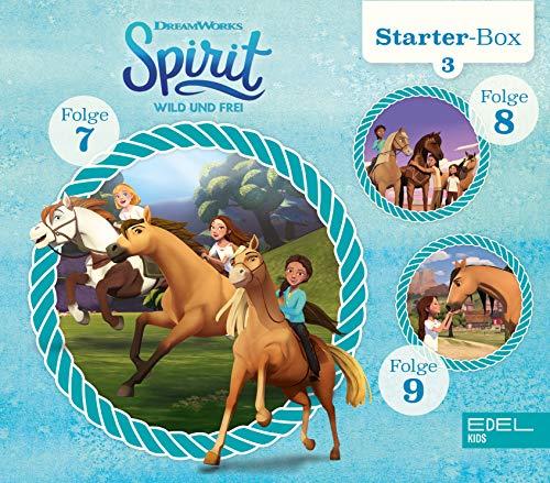 Spirit: wild und frei - Starter-Box 3 (7-9) - Das Original-Hörspiel zur TV-Serie
